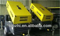 Atlas Copco XAS137 Portable Air Compressor for mining