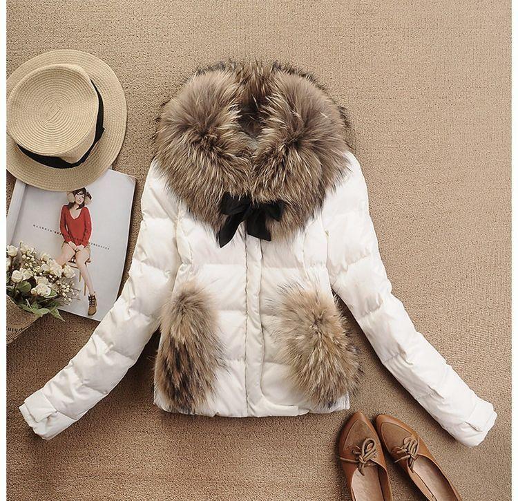 Купить Белую Куртку С Мехом Женскую В Москве