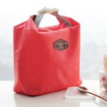 1pcs/lot Free Shipping Outdoor Picnic Insulated Lunch Bag Box Container Cooler Thermal Waterproof Tote(China (Mainland))