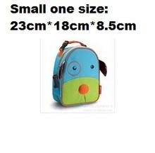 wholesale Children School Bag Cartoon Animal Canvas Backpack Baby Toddler Kids Leather Shoulder Kindergarten Schoolbag(China (Mainland))