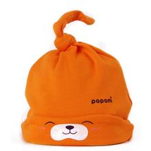 New mult-color Cartoon Baby Toddlers Cotton comfort Sleep Cap Headwear Cute Hat(China (Mainland))