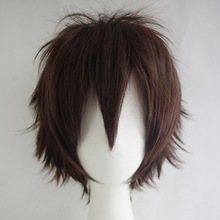 """Cheap Super Deal 50% OFF Promotion 30cm/12"""" Full Short Hair Multi-Color Cosplay Wigs for Party ,Halloween(China (Mainland))"""