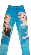 2014 New Baby Girls Frozen Leggings Girl Long Frozen Pants 2-6Years Kids Cotton Frozen Leggings(China (Mainland))