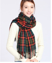 Winter Scarf Fashion Wool Spain Desigual Scarf Women Plaid Thick Scarves S