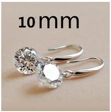 DAFU 100% 925 Sterling Silver Earring Free shipping(China (Mainland))