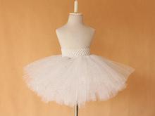 New glitter tutu skirt for baby girls cheap beautiful infant children kids white petti fluffy skirt  0-2Y,2-4 Y free shipping(China (Mainland))