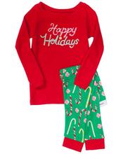 2014 christmas children clothes princess snowman and Santa Claus 16 design winter long sleeve pajamas christmas clothing set (China (Mainland))