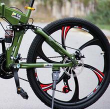 zxc1-26-inch mountain bike 21 speed road bike double disc folding car racing shock students Car(China (Mainland))