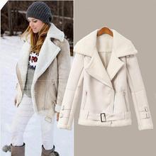 2014 Winter New Brand Women Dress Cheap Suede Jackets Fleece Wadded Winter Coat Camisas Femininos Mujer Free Shipping Jc039(China (Mainland))