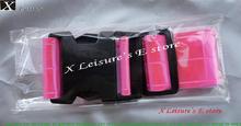 Pink/Blue/White color Reflective belt,waistband,PVC Reflective Waistband Free shipping, (China (Mainland))