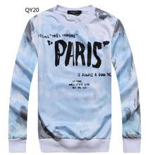 [Magic] Hot European and American popular 3D clothing both side print casual sweatshirt men hoodies new 21models free shipping(China (Mainland))