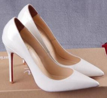 Promotion 2015 Impera Sexy Women Pumps Red Bottom High Heels Pigalle Pumps Pointed Toe Patent Leather Shoes Woman(China (Mainland))