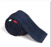 Fashion Men's Colourful Tie Knit Knitted Tie Necktie Narrow Slim Skinny Woven(China (Mainland))