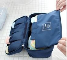 Travel Bags Waterproof Travelling Box Underwear Storage Women finishing Package Bra panties socks travel portable cosmetic bag(China (Mainland))