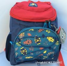 Korea Style Stereoscopic Cartoon Robot School Bags for Boys and Girls Cartoon Canvas Backpack Shoulder Bag Kids Mochila Infantil(China (Mainland))