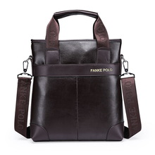 Wholesale 2015 New Men's Messenger Travel Bags Business Men PU Leather Laptop Tote Bags Man Casual Crossbody Briefcases(China (Mainland))