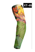 2015new elastic temporary tattoo sleeve designs body Arm stockingsTattoo sleeves for cool Punk Hip-hop pinarello arm warmer(China (Mainland))