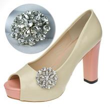 30 pcs/lot Wedding Rhinestones Shoe Clips for Decoration(China (Mainland))