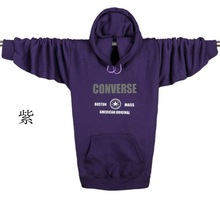New fashion men's models fall oversized men's tide thicker long-sleeved head sweatshirts plus fertilizer to increase hooded (China (Mainland))