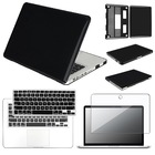 "3 in 1 Crystal Hard Case + keyboard Cover + Screen Protector For Macbook PRO 13"" Free Shipping 9 Colors(China (Mainland))"