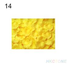 100pcs Silk Rose Flower Petals Leaves Wedding Table Decorations Wholesale 035B(China (Mainland))