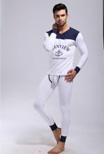 any 1 set mens Pajamas underwear sleepwear free shipping modal pants discount robe Manview brand 2013 new keep warm sleeve set(China (Mainland))