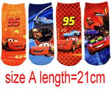 2014 Cartoon Boys Normal/Sneaker Socks New Babys Cotton Socks 1-10Yrs 12Pairs/lot Childrens Kids Clothing Size A/B/C/D(China (Mainland))
