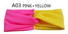 Free Shipping Fashion New 2014 Twist Sport Yoga Headband Bandana hijab Turban Headscarf Wrap For Women Hair Accessories A0399(China (Mainland))