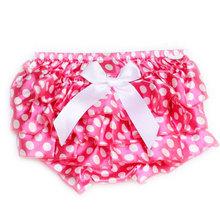 2014 Newborn Baby Girls Satin Ruffle Flounce PP Shorts Pants Tier Pantskirt Briefs Bowknot Bloomers Skirt Dress XMPJ148(China (Mainland))