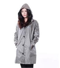 2014 fashion long female raincoats ponchos waterproof leopard rain coat women winter portable thin trench coat chubasquero mujer(China (Mainland))