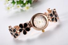 Hot Sale Fashion & Casual watch Women dress watches Flower Bracelet Ladies wristwatch relogio feminino Original Female Clock(China (Mainland))