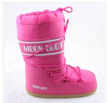 Nuevo 2014 luna plataforma botas moda otoño invierno botas de nieve mujeres women shoes envío gratis(China (Mainland))