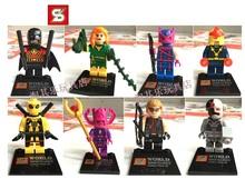 Super Heroes Star Wars Movie Ninjago figures Bricks building Blocks Sets Minifigures Toys Model Compatible with Lego(China (Mainland))