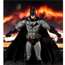 "7""18CM The Dark Knight Movie Batman Superhero action figure Toy Collection superhero figures robot Kids classic toys 3 colours(China (Mainland))"