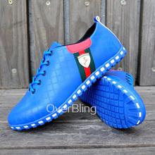 Men Shoes 2015 Fashion Sneakers Shoes Men Casual Leather Shoe Men's Flats Low Men Sneaker Striped Breathable Oxford Shoe(China (Mainland))