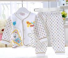 hot selling Winter Babys Sleepwear Cotton Boys Pyjamas Girls Clothing Children's Clothes Baby Sets Underwear kids pajama sets(China (Mainland))
