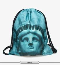 2015 new fashion escolar backpack 3d print travel softback man wonmen mochila feminina harajuku drawstring bag unisex backpacks(China (Mainland))