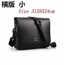 2014 Rushed Zipper Handbags Men Messenger Bags, Big Promotion Genuine Kangaroo Leather Shoulder Bag Man Briefcase, free Shipping(China (Mainland))