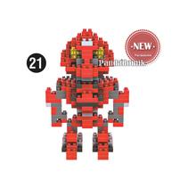 Sales Promotion ! LOZ Blocks Diamond Building Blocks Action Figure Super heroes Minions 3D Bricks Toys / learning Education toys(China (Mainland))