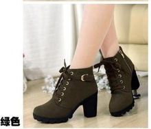 new 2014  brand  platform high heel single shoes vintage Women Motor