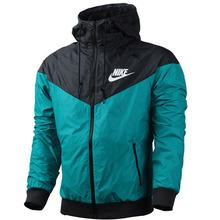 2014 spring Autumn new men's sports jacket hooded jacket Men Fashion Thin Windbreaker Zipper Coats Free Shipping! (China (Mainland))