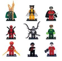 Marvel Super Heroes TMNT SWAT Star Wars Ninjago Chima City Movie Minifigures Building Blocks Sets Bricks Toys Lego Compatible(China (Mainland))
