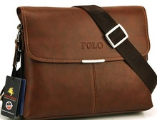 2014 New casual men messenger bag leather bags for men business formal briefcase high quality  morer #143(China (Mainland))