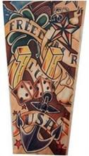 13 Specials Wholesale Hot Tattoo Sleeve Arm Leg Warmers Outdoor Riding Simulation Sunscreen UV Tattoo Nylon Stretchy Arm Sleeve(China (Mainland))