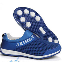Summer gauze breathable shoes straw braid shoes lazy fashion net fabric shoes male shoes