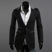 2013New suit Free shipping New High quality Men's Jacket High collar coat Jackets for Men M L XL XXL