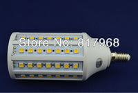 Corn Bulb E14 15W 5050 SMD 86LED Light Home Bedroom Lamp 200-240V/AC 360 degree High Power Cool| Warm White Free Shipping