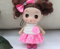 4 color Lovely 9 cm confused doll mobile phone's accessories  36pcs free shipping