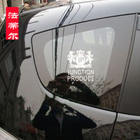 JP Junction Produce king-Lion style car side window stickers  trigonometric window stickers emblem logo Universal