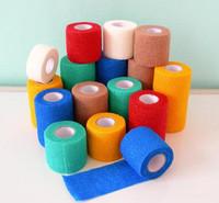 Sports elastic bandage multicolour 5cm non-woven medical ankle support pet belt